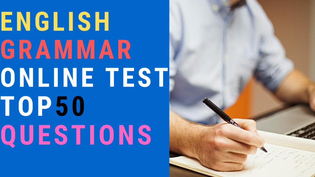 English Grammar Online Test